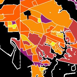 Community Info for Halethorpe MD Demographics Census Data